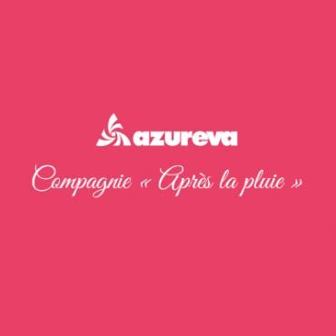 Azureva partenaire de la compagnie après la pluie