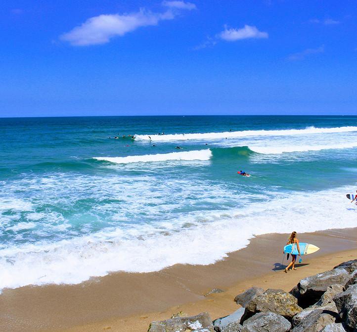 Vacances surf sport aquatique Hossegor Azureva